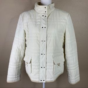 Giacca Ivory Quilted Jacket XL